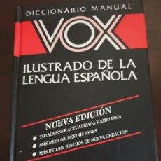 Livres: DICCIONARIO ILUSTRADO LENGUA ESPAÑOLA VOX. Lote 215479788