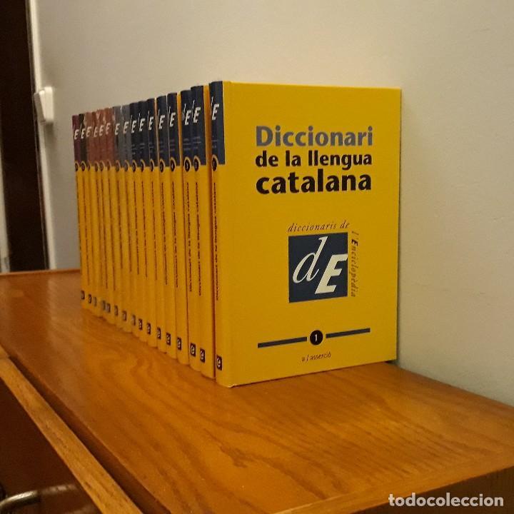 DICCIONARI LLENGUA CATALANA 16 TOMOS (Libros Nuevos - Diccionarios y Enciclopedias - Diccionarios)