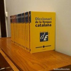 Diccionarios: DICCIONARI LLENGUA CATALANA 16 TOMOS. Lote 215805495