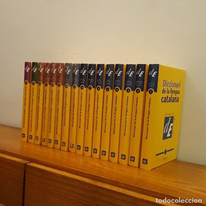 Diccionarios: DICCIONARI LLENGUA CATALANA 16 TOMOS - Foto 2 - 215805495