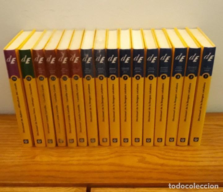 Diccionarios: DICCIONARI LLENGUA CATALANA 16 TOMOS - Foto 3 - 215805495