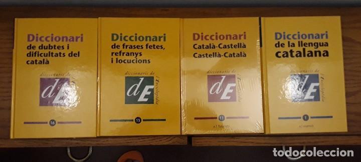 Diccionarios: DICCIONARI LLENGUA CATALANA 16 TOMOS - Foto 4 - 215805495