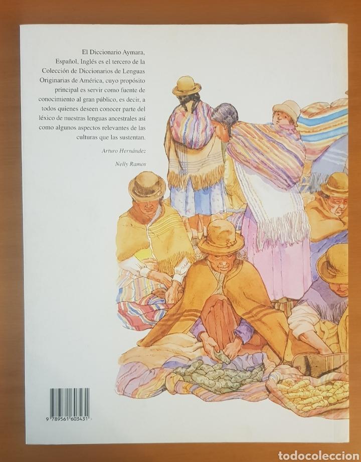 Diccionarios: Diccionario ilustrado AYMARA. - Foto 4 - 217269366