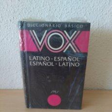 Libri: DICCIONARIO VOX BÁSICO LATÍN. PRECINTADO NUEVO. Lote 222960122