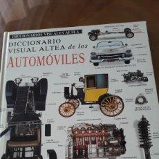 Diccionarios: LOS PRIMEROS AUTOMOVILES. Lote 225001590