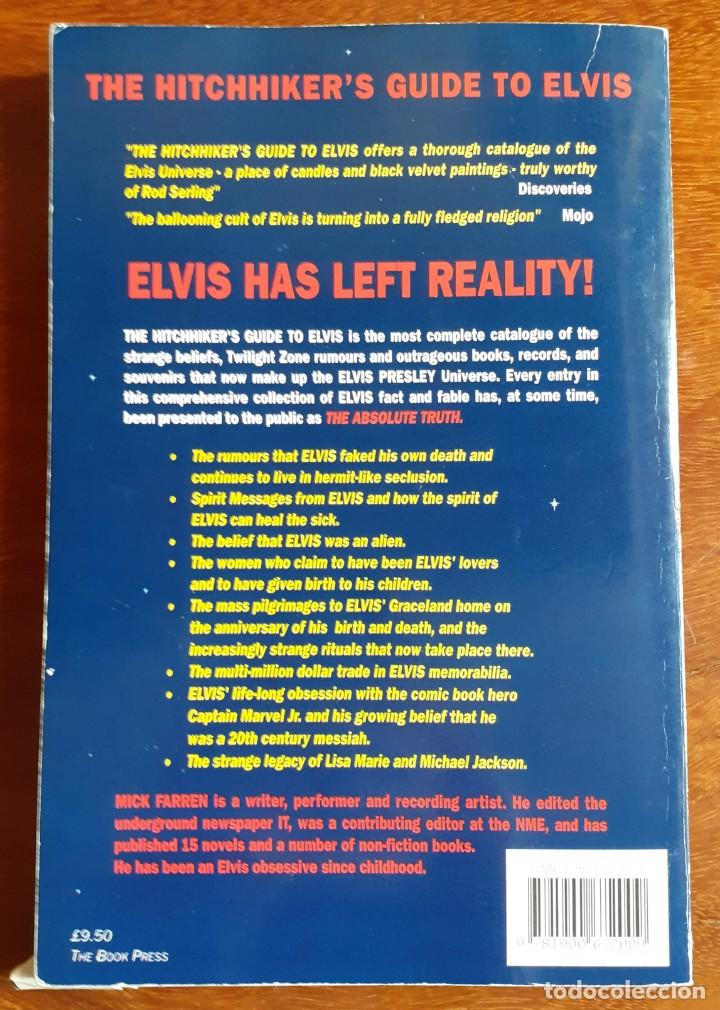 Diccionarios: Hitchhikers Guide to Elvis: An A-Z of the Elvis - Mick Farren - Foto 2 - 225310560