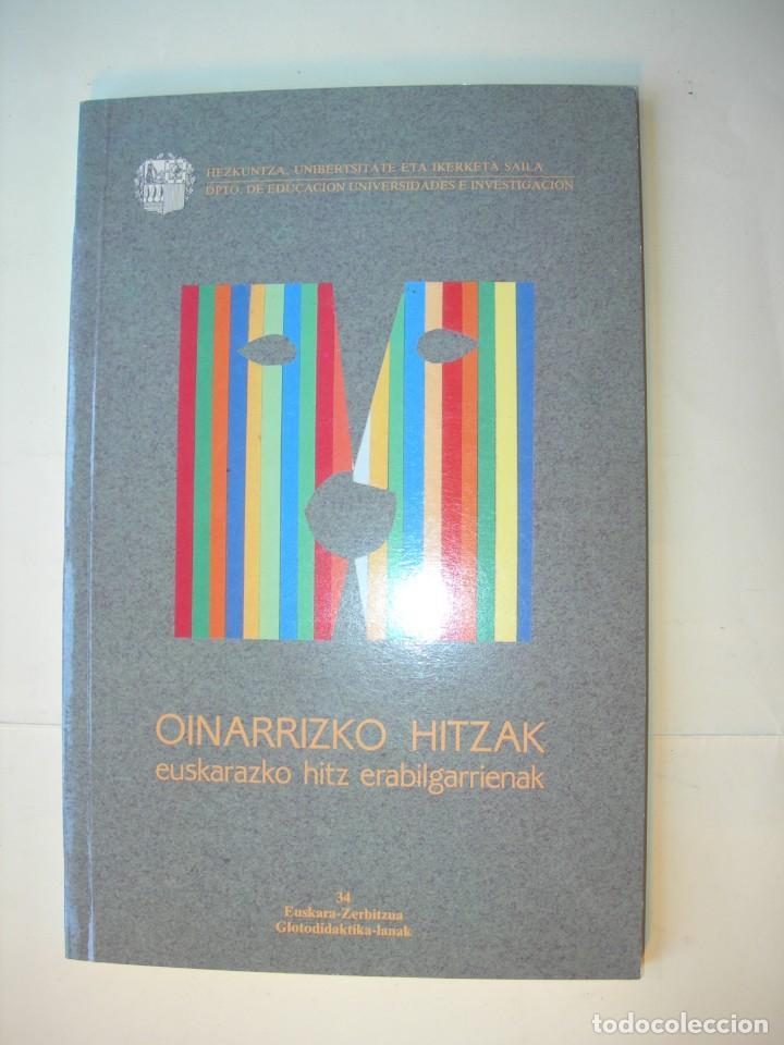 OINARRIZKO HITZAK / EUSKARAZKO HITZ ERABILGARRIENAK (Libros Nuevos - Diccionarios y Enciclopedias - Diccionarios)
