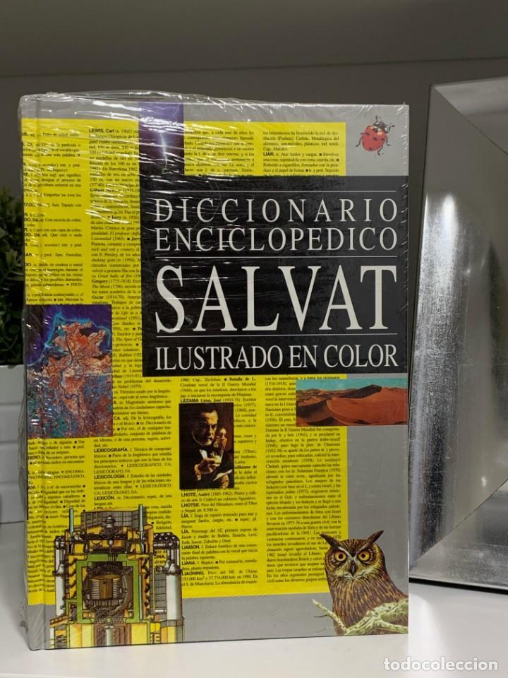 SALVAT DICCIONARIO ENCICLOPEDICO ILUSTRADO NUEVO Y PRECINTADO (Libros Nuevos - Diccionarios y Enciclopedias - Diccionarios)