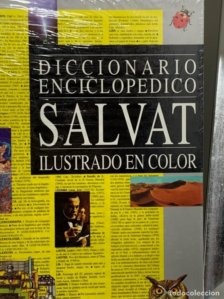 Diccionarios: SALVAT DICCIONARIO ENCICLOPEDICO ILUSTRADO NUEVO Y PRECINTADO - Foto 2 - 226100985