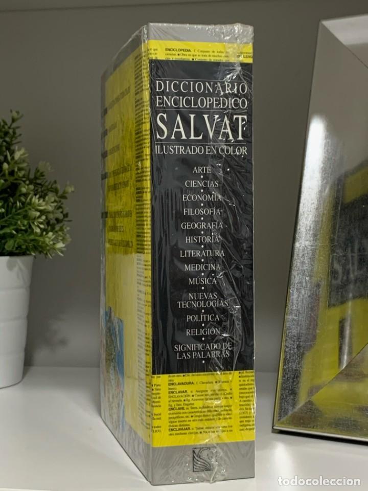 Diccionarios: SALVAT DICCIONARIO ENCICLOPEDICO ILUSTRADO NUEVO Y PRECINTADO - Foto 3 - 226100985