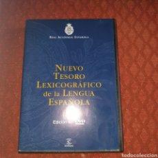 Diccionarios: NUEVO TESORO LEXICOGRÁFICO DE LA LENGUA ESPAÑOLA. Lote 227569985