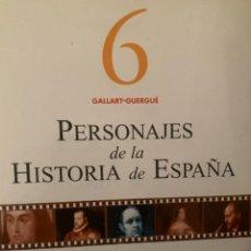 Diccionarios: ENCICLOPEDIA PERSONAJES DE LA HISTORIA DE ESPAÑA Nº 6. Lote 228211675