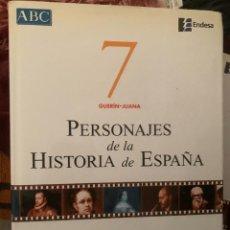 Diccionarios: ENCICLOPEDIA PERSONAJES DE LA HISTORIA DE ESPAÑA Nº 7. Lote 228211721