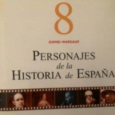 Diccionarios: ENCICLOPEDIA PERSONAJES DE LA HISTORIA DE ESPAÑA Nº 8. Lote 228211745