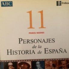 Diccionarios: ENCICLOPEDIA PERSONAJES DE LA HISTORIA DE ESPAÑA Nº 11. Lote 228212145