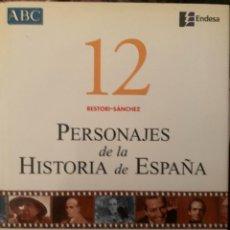 Diccionarios: ENCICLOPEDIA PERSONAJES DE LA HISTORIA DE ESPAÑA Nº 12. Lote 228212190