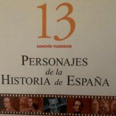 Diccionarios: ENCICLOPEDIA PERSONAJES DE LA HISTORIA DE ESPAÑA Nº 13. Lote 228212290