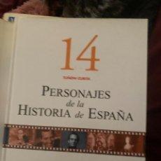 Diccionarios: ENCICLOPEDIA PERSONAJES DE LA HISTORIA DE ESPAÑA Nº 14. Lote 228212330