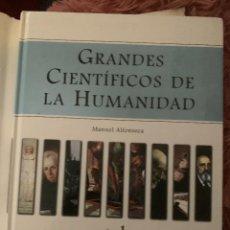 Diccionarios: DICCIONARIO ENCICLOPEDIA GRANDES CIENTIFICOS DE LA HUMANIDAD - LOTE 2 TOMOS. Lote 228213445