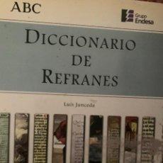 Diccionarios: DICCIONARIO ENCICLOPEDIA DE REFRANES. Lote 228213545