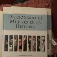 Diccionarios: DICCIONARIO ENCICLOPEDIA MUJERES EN LA HISTORIA. Lote 228213620