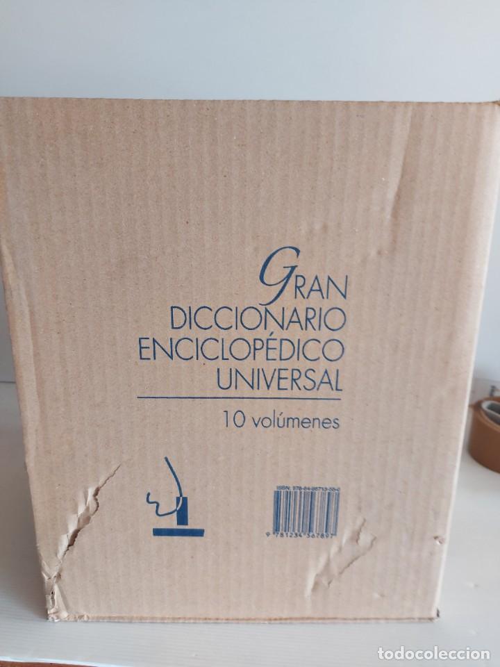 Diccionarios: OCASIÓN !!! DICCIONARIO ENCICLOPÉDICO UNIVERSAL / OBRA COMPLETA 10 TOMOS / TODOS PRECINTADOS !! - Foto 4 - 229175625