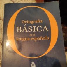 Livros: ORTOGRAFÍA BÁSICA DE LA LENGUA ESPAÑOLA. Lote 229507885
