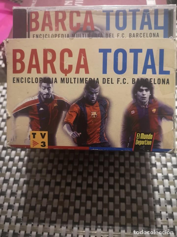 Diccionarios: Enciclopedia multimedia del F.C Barcelona - Foto 2 - 230444545