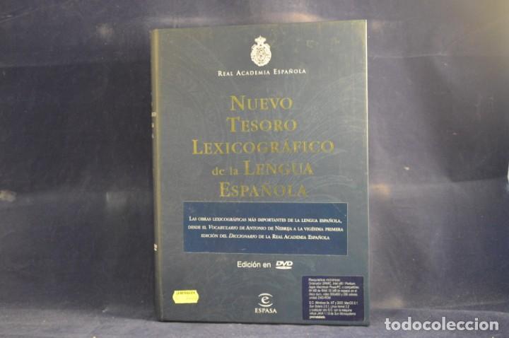 NUEVO TESORO LEXICOGRAFICO DE LA LENGUA ESPAÑOLA - DVD ROM (Libros Nuevos - Diccionarios y Enciclopedias - Diccionarios)