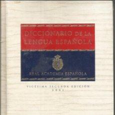 Diccionarios: DICCIONARIO R.A.E. 2001 LENGUA ESPAÑOLA TOMO I. 2001 - REAL ACADEMIA ESPAÑOLA. Lote 234151625