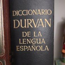 Diccionarios: DICCIONARIO DURVAN DE LA LENGUA ESPAÑOLA. Lote 236862690