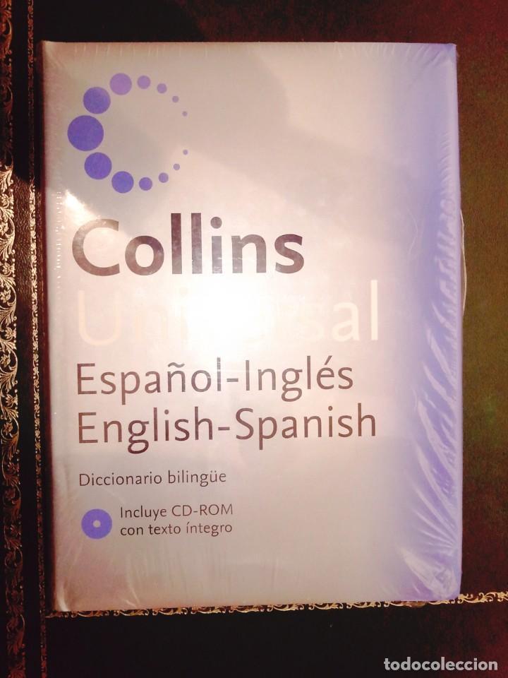 DICCIONARIO BILINGÜE COLLINS UNIVERSAL - AÚN RETRACTILADO (Libros Nuevos - Diccionarios y Enciclopedias - Diccionarios)