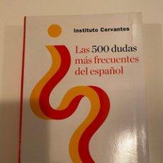 """Livros: """"LAS 500 DUDAS MÁS FRECUENTES DEL ESPAÑOL"""" - ESPASA. Lote 240148880"""