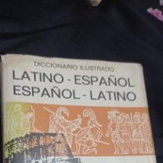 Diccionarios: DICCIONARIO LATINO ESPAÑOL ILUSTRADO Y CON SEPARADORES. Lote 240695410