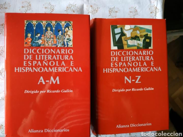 Diccionarios: Diccionarios de Literatura Española e Hispanoamericana - Foto 3 - 241164705