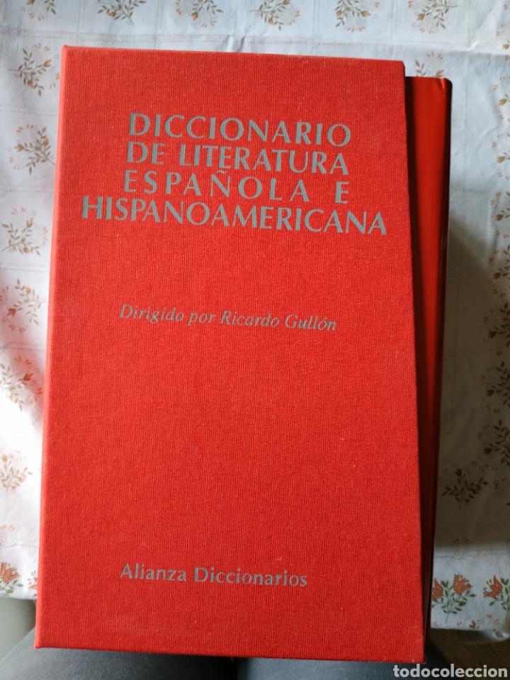 DICCIONARIOS DE LITERATURA ESPAÑOLA E HISPANOAMERICANA (Libros Nuevos - Diccionarios y Enciclopedias - Diccionarios)