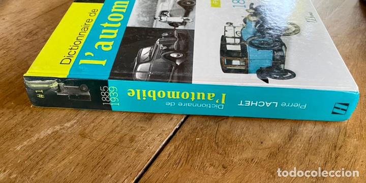 Diccionarios: Libro Dictionnaire de l'Automobile / Volume I 1885-1939 - Foto 2 - 242043425
