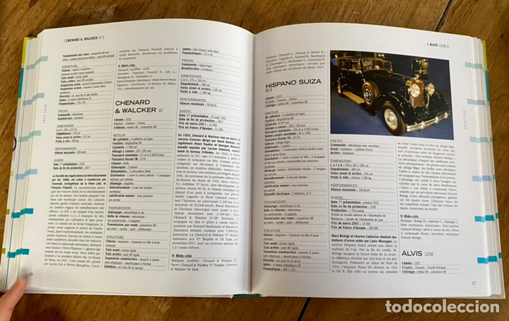 Diccionarios: Libro Dictionnaire de l'Automobile / Volume I 1885-1939 - Foto 10 - 242043425