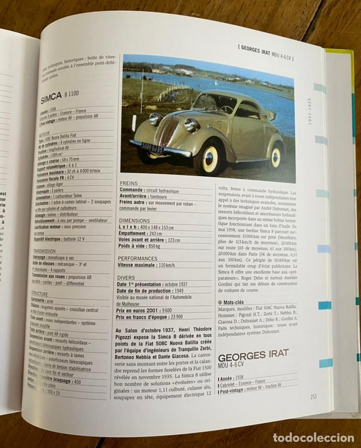 Diccionarios: Libro Dictionnaire de l'Automobile / Volume I 1885-1939 - Foto 13 - 242043425