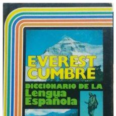 Diccionarios: DICCIONARIO EVEREST CUMBRE. Lote 242048440