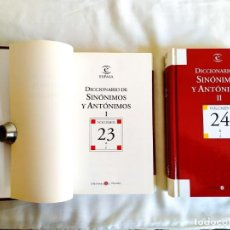 Diccionarios: DICCIONARIO ESPASA DE SINÓNIMOS - DOS TOMOS. Lote 242152825