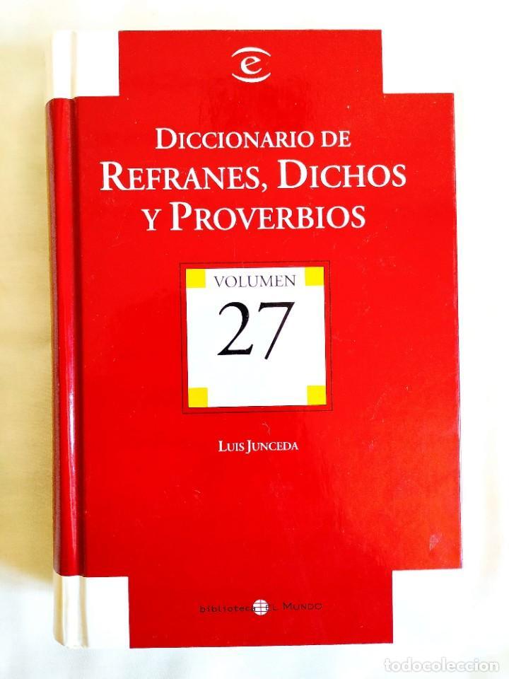 JUNCEDA: DICCIONARIO DE REFRANES (Libros Nuevos - Diccionarios y Enciclopedias - Diccionarios)