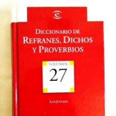 Diccionarios: JUNCEDA: DICCIONARIO DE REFRANES. Lote 242154210