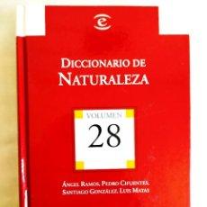 Diccionarios: DICCIONARIO ESPASA DE LA NATURALEZA. Lote 242154485