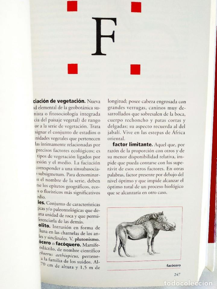 Diccionarios: DICCIONARIO ESPASA DE LA NATURALEZA - Foto 3 - 242154485