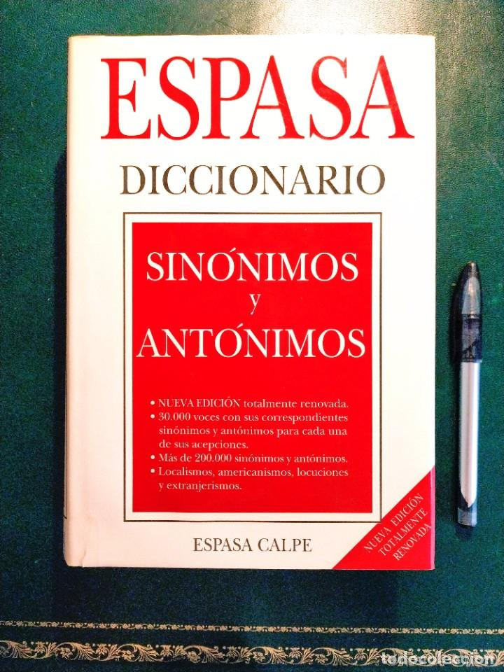 DICCIONARIO ESPASA DE SINÓNIMOS (Libros Nuevos - Diccionarios y Enciclopedias - Diccionarios)