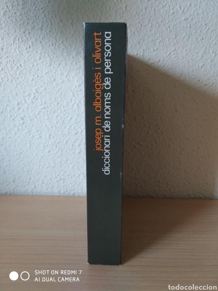 Diccionarios: Diccionari de noms de persona. Catalán. Nuevo - Foto 2 - 243119105