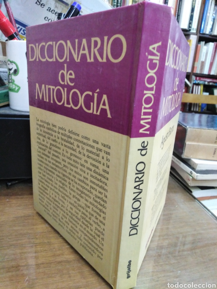 Diccionarios: DICCIONARIO DE MITOLOGIA-AGUSTI BARTRA-EDITA GRIJALBO 1982 - Foto 2 - 245350665