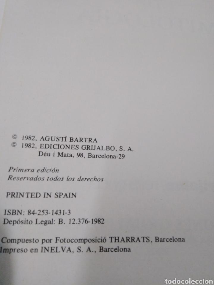 Diccionarios: DICCIONARIO DE MITOLOGIA-AGUSTI BARTRA-EDITA GRIJALBO 1982 - Foto 4 - 245350665