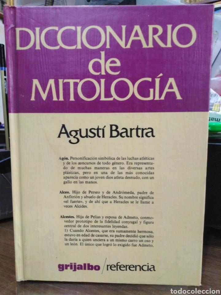 DICCIONARIO DE MITOLOGIA-AGUSTI BARTRA-EDITA GRIJALBO 1982 (Libros Nuevos - Diccionarios y Enciclopedias - Diccionarios)